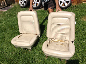 1964 to 69 mustang or cougar front seats