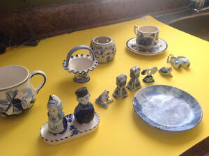 Blue Delft Pieces