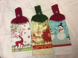 Christmas hanging Towels