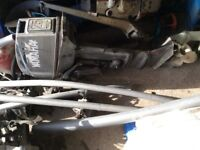 Yamaha A 25 hp 648 outboard engine long shaft spares or repair breaking parts
