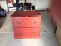 Letter and/or Legal size Four section file cabinet