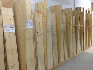 Spruce Boards from Ottawa Crashed Ice