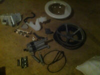 i have all parts for a kenmore front loader machine