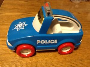 VINTAGE 1987 POLICE MY FIRST BUDDYS PATROL EXCELLENT ÉTAT