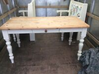 Kitchen table an bench seats