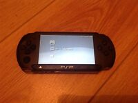 PSP AND TWO GAMES