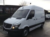 2014 Mercedes sprinter 310 cdi swb high roof with parking camera no vat