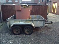 Trailer Ifor Williams twin axle for sale