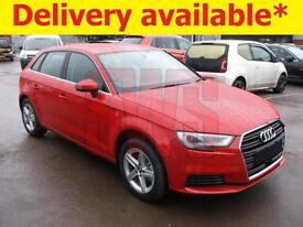 2017 Audi A3 1.4 TSi S/Tronic 122PS DAMAGED ON DELIVERY