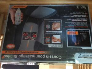 Coussin pour massage Shiatsu,   Double mobile de massage.