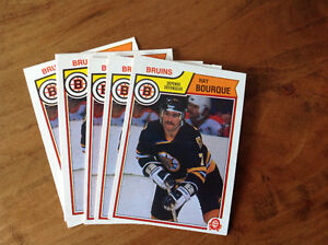 Ray Bourque 83-84 O-Pee-Chee card