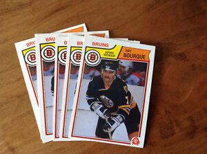 Ray Bourque 83-84 O-Pee-Chee card