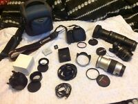 CANON 600D BUNDLE, 5 LENS, BAG ETC, EVERYTING IN PICS