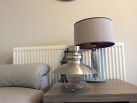 John Lewis light fitting. Requires no wiring. £10 hardly used