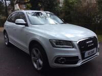 2012 62 Audi Q5 2.0TDI ( 177ps ) quattro S Line Plus BUY FOR £69 PER WEEK