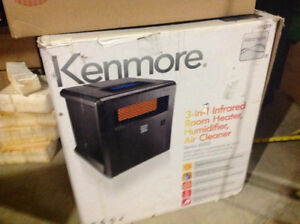 Kenmore Sears 3 in 1 infrared heater Humidifier and air purefier