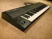 Roland U-20 Synthesizer + PCM Sound Bank Cards - AS IS