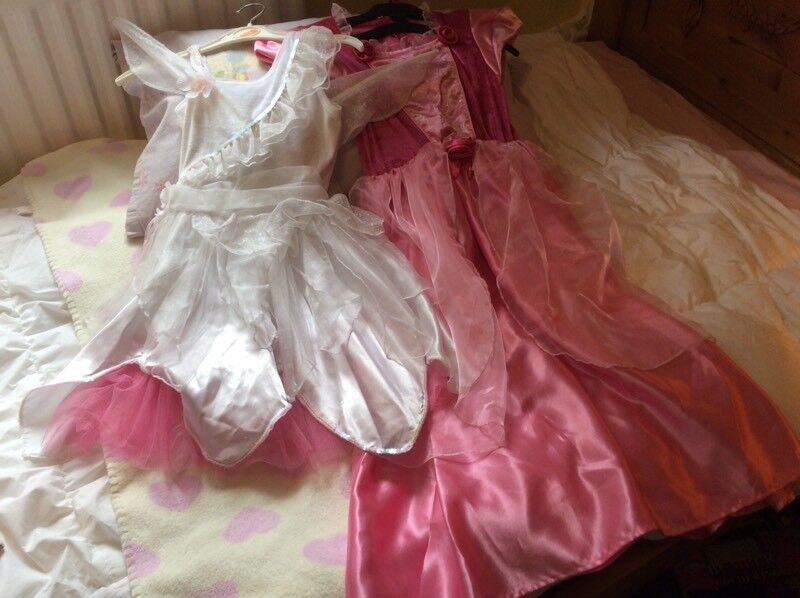 GIRLS DRESSING UP COSTUMES-FAIRY ANGEL/ PRINCESS AGE 7-8