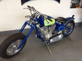 At Hurricane New Build Carol Nash Revtech 1450cc Bobber Not Harley Davidson Chopper