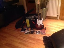 THE FULL GUITAR PACKAGE