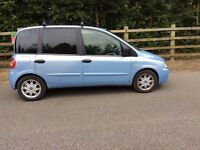 Fiat multylpa 2006 ppl a carrier 6 seater diesel looks drives great !! Ford RENAULT kia seat