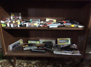 N Scale model train 1954 era
