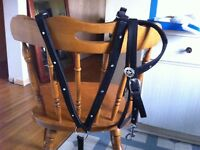 Brand new mini breast collar and headstall