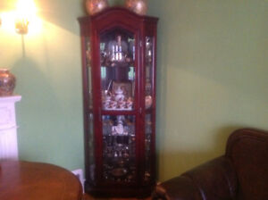 Hutch and Display Cabinet