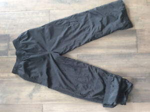 Kids Black Splash Pants