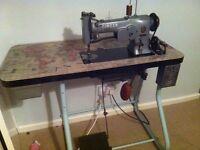 Singer 107g103 industrial sewing machine zig zag stitch
