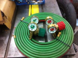 Cadrans et boyaux pour soudage au gaz