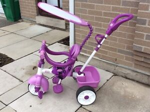 4-in-1 Little Tykes Tricycle- Will go fast!!!