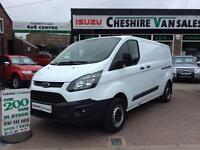 15 REG TRANSIT CUSTOM 2.2 290 L2 LWB 125BHP CHOICE 200 VANS IN STOCK OPEN 7 DAYS