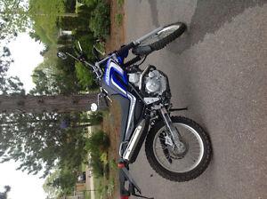 2014 Yamaha XT250 E motorcycle