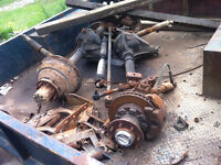 Chevy GMC Dana 60 front, 14 bolt rear