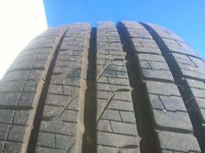 Set of 4 - VW wheels & tires 205/55R16 Tires like new.