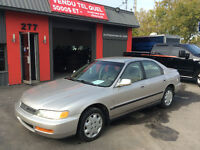 1997 Honda Accord Ex Visa Master card