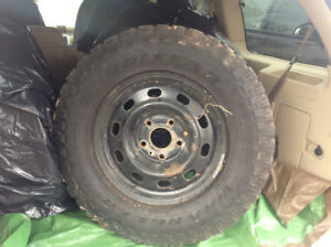 4Track Tires/rims Wrangler Goodyear in great shape! $600.00