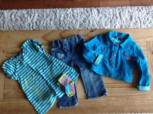 Vêtements fille 18-24 mois souris mini, mexx, gap, hilfiger...