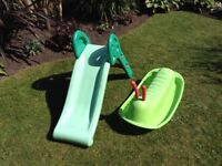 Small Child's Slide and Caterpillar