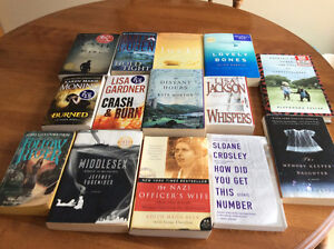 Lot of 29 Books - Paperbacks and Hardcover
