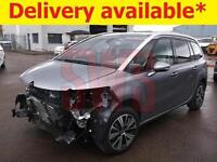 2016 Citroen C4 GR Picasso Flair Blueh 1.6 DAMAGED REPAIRABLE SALVAGE