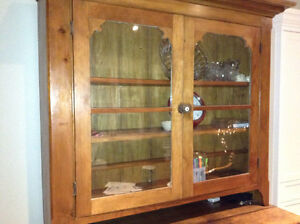 Very old antique hutch for sale