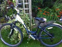 "Hybrid trek navigator 100 mountain bike 16"""