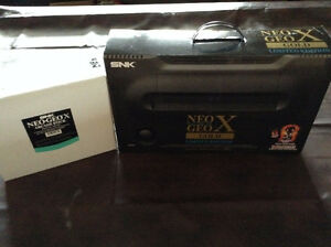 Neo Geo X Gold Limited Edition with Extra Arcade Stick (2 total)
