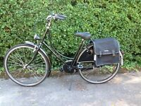 Dutch Bike Classic Vintage Style + accessories Excellent Condition cost £382 selling for £300