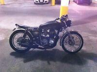 Honda CB550K Brat/Cafe/Bobber custom build