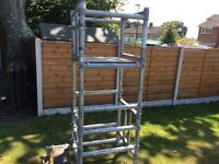 Podium Steps Scaffolding Tower