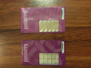 Two sets of Jamberry Nail Wraps