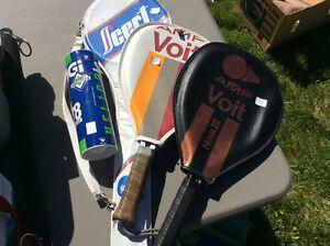 Raquettes squash et badminton